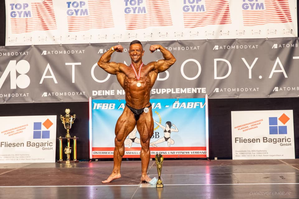 Overall Champion im Bodybuilding Christian Racan